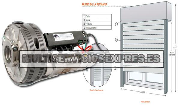 Reparación persianas eléctricas