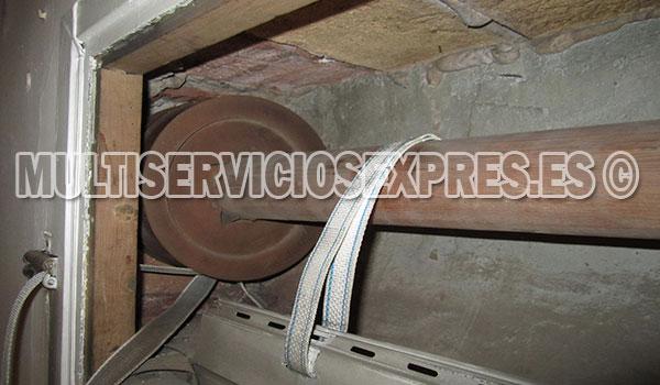 reparacion persianas en Manzanares el Real