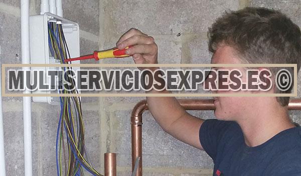 Electricistas 24 horas en Santomera