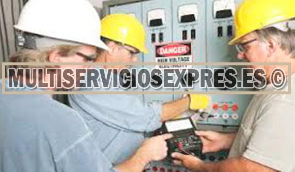 Electricistas autorizados en Getafe