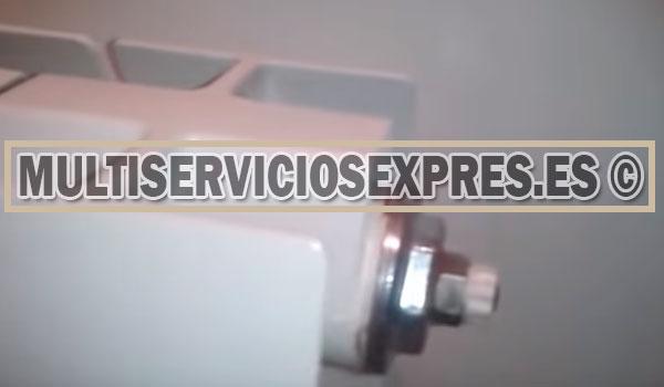 Como purgar un radiador - fontaneros Ciempozuelos Madrid