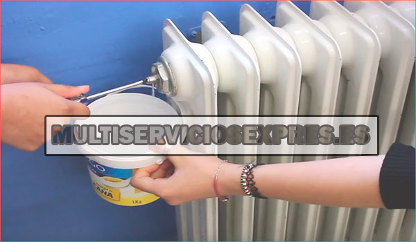 Como purgar un radiador - fontaneros en Meliana