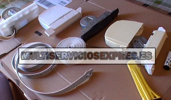 Arreglar recogedor persiana