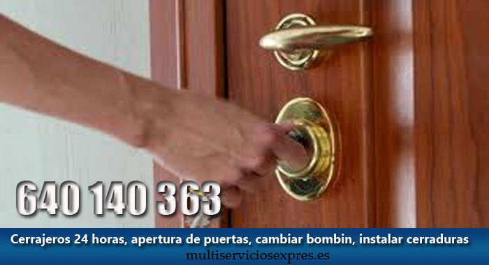 Cerrajeros en Antequera 24 horas.