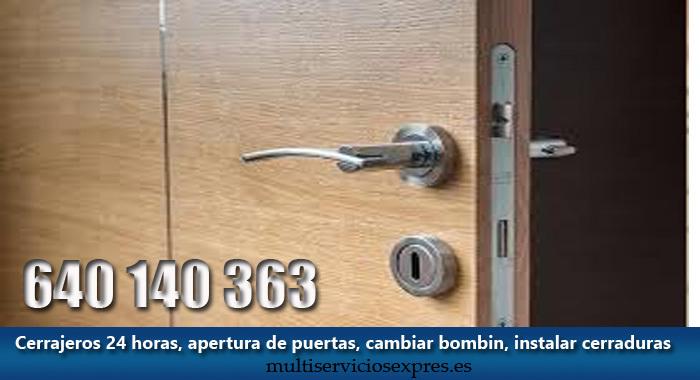 Cerrajeros en Pizarra 24 horas.