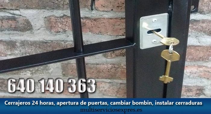 Cerrajeros en Paracuellos de Jarama