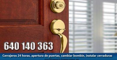 Cerrajeros en Puerto Serrano