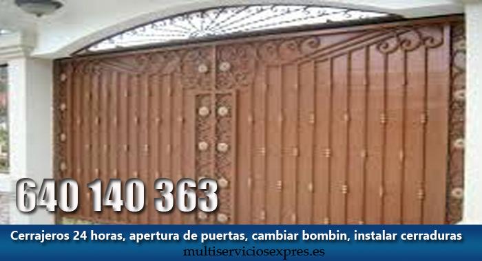 Cerrajeros en Alpedrete Madrid