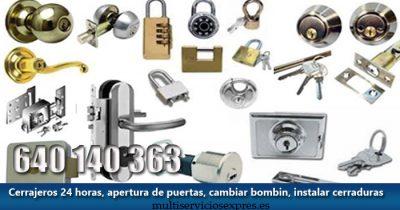 Cerrajeros en Pilar de la Horadada