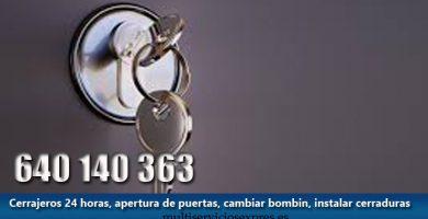 Cerrajeros en Las Fuentes